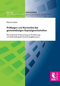 Pr  fungen und Kontrollen bei gemeinn  tzigen Kapitalgesellschaften PDF