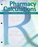 Pharmacy Calculations