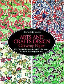 Arts and Crafts Design Giftwrap Paper PDF