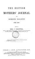 The British Mothers  Journal and Domestic Magazine PDF
