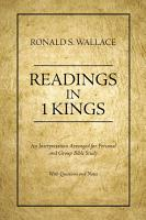 Readings in 1 Kings PDF