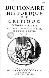 Dictionnaire historique et critique: Volume2,Numéro2