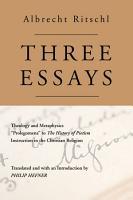Three Essays PDF