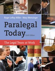 Paralegal Today The Legal Team At Work Book PDF
