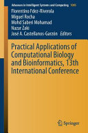 Practical Applications of Computational Biology and Bioinformatics  13th International Conference PDF