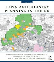 Town and Country Planning in the UK PDF