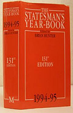 The Statesman s Year Book 1994 95 PDF