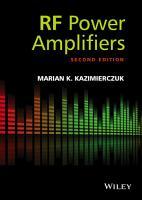 RF Power Amplifiers PDF