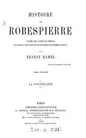 Histoire de Robespierre d'après des papiers de famille: les sources originales et des documents entièrement inédits