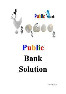 Public Bank Solution PDF