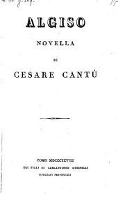 Algiso ; Novella