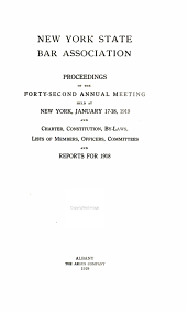 Proceedings and Committee Reports: Volume 42