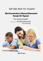 Mind Concentration   Memory Enhancement through Self Hypnosis PDF