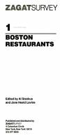 Zagat  1996 PDF
