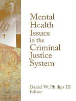 Mental Health Issues in the Criminal Justice System PDF