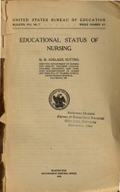 Educational Status of Nursing