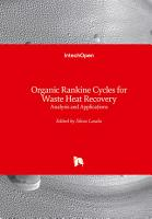 Organic Rankine Cycles for Waste Heat Recovery PDF