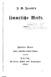 J.G. Jacobi's sämmtliche Werke: Band 5
