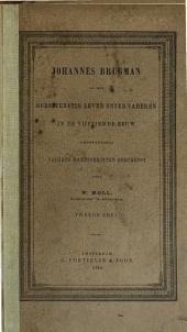 Johannes Brugman en het godsdienstig leven onzer vaderen in de vijftiende eeuw: grootendeels volgens handschriften geschetst, Volume 2