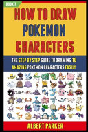 How To Draw Pokemon Characters Book PDF