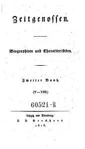 Zeitgenossen. Biographien und Charakteristiken: Band 2