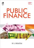 Public Finance  29th Edition PDF