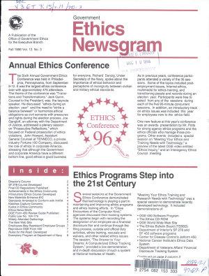 Government Ethics Newsgram PDF