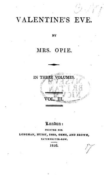 Download Valentine s Eve Book
