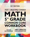 Argo Brothers Math Workbook, Grade 5