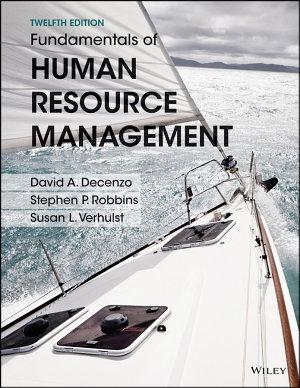 Fundamentals of Human Resource Management  Binder Ready Version