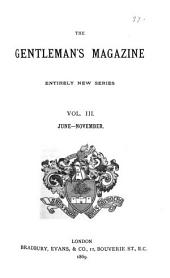 Gentleman's Magazine and Historical Chronicle: Volume 3