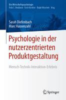 Psychologie in der nutzerzentrierten Produktgestaltung PDF