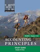 Accounting Principles  Study Guide   PDF