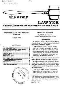 The Army Lawyer PDF