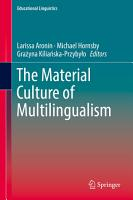 The Material Culture of Multilingualism PDF