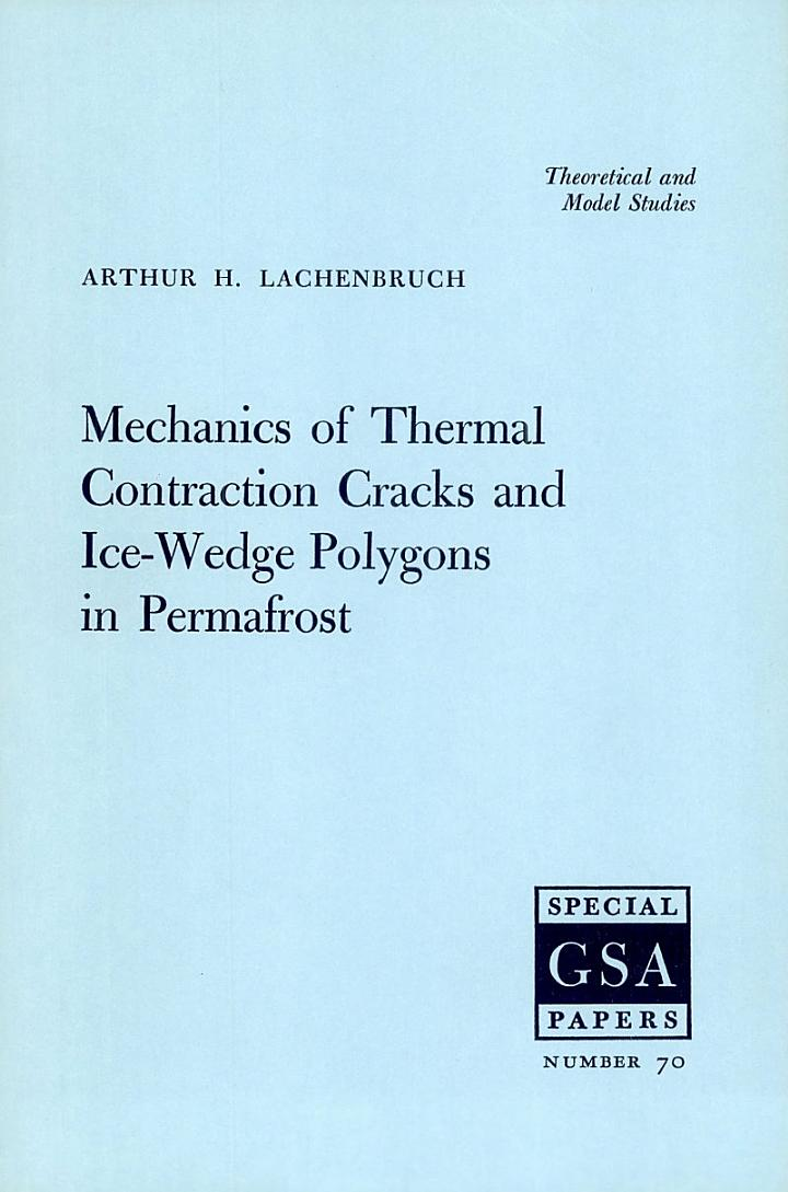 Mechanics of Thermal Contraction Cracks and Ice-Wedge Polygons in Permafrost