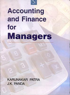 Accounting and Finance for Managers PDF