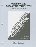 Outlining and Organizing Your Speech Book