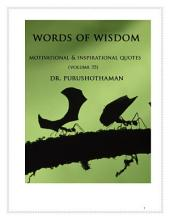 Words of Wisdom (Volume 35): 1001 Quotes & Quotations