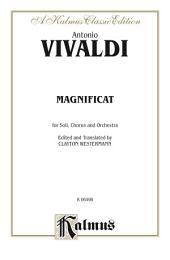 Magnificat: SATB with SSATB Soli Choral Worship Cantata