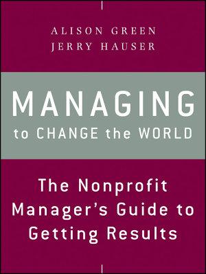 Managing to Change the World PDF
