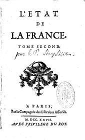 L'état de la France