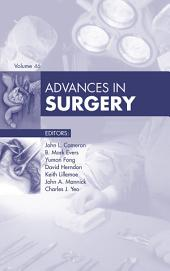 Advances in Surgery - E-Book