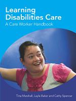Learning Disabilities Care A Care Worker Handbook PDF