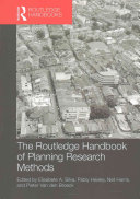 The Routledge Handbook of Planning Research Methods PDF