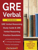 GRE Verbal Workbook PDF