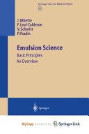 Emulsion Science