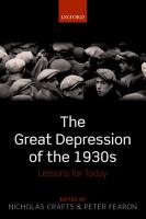 The Great Depression of the 1930s PDF