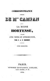 Correspondance: Volume2