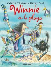 Winnie en la playa